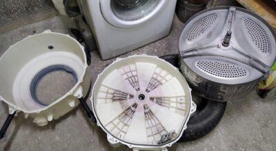Гудит стиральная машина и как избавиться от шума?